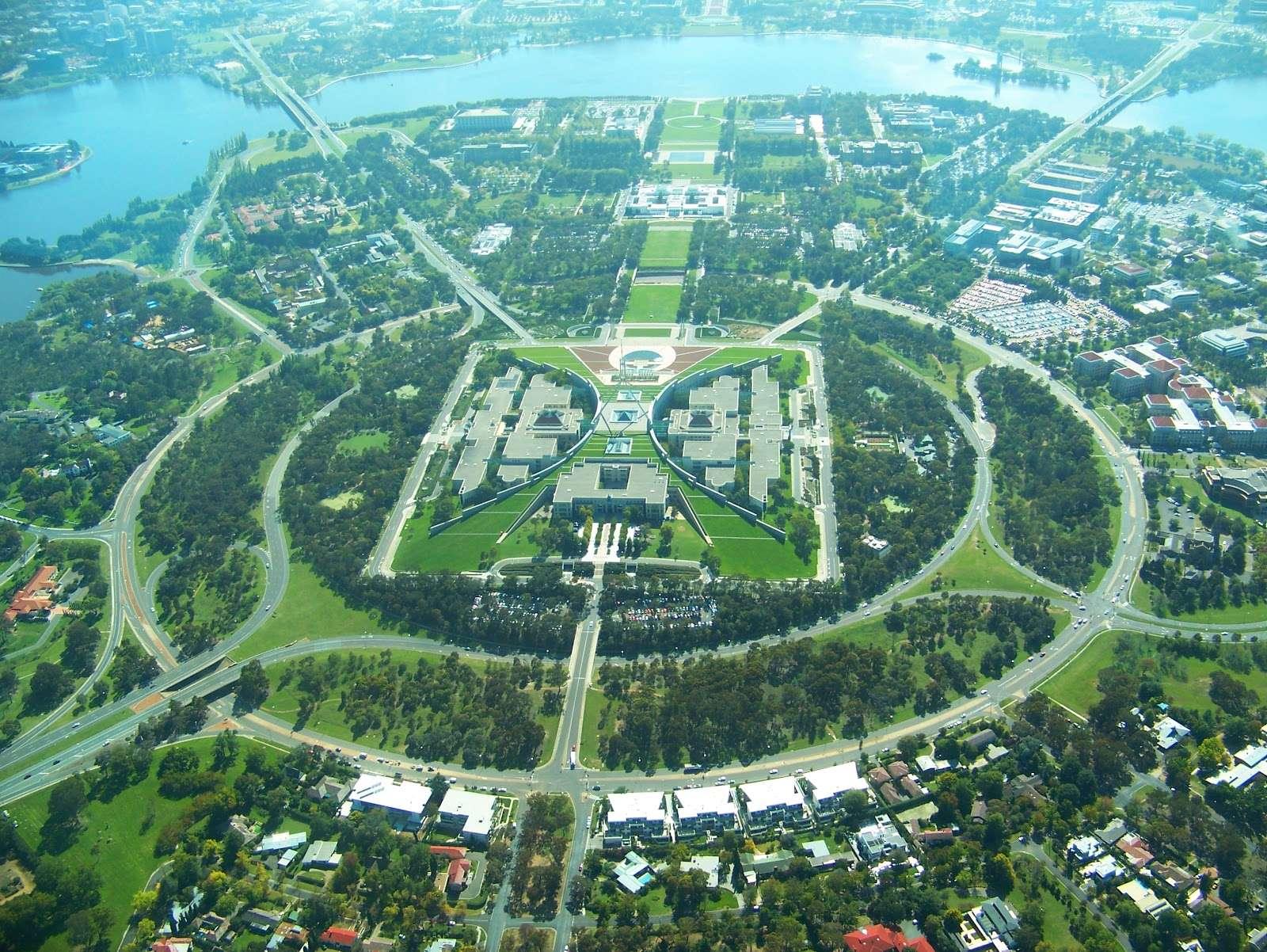 Thành phố Canberra, thủ đô nước Úc