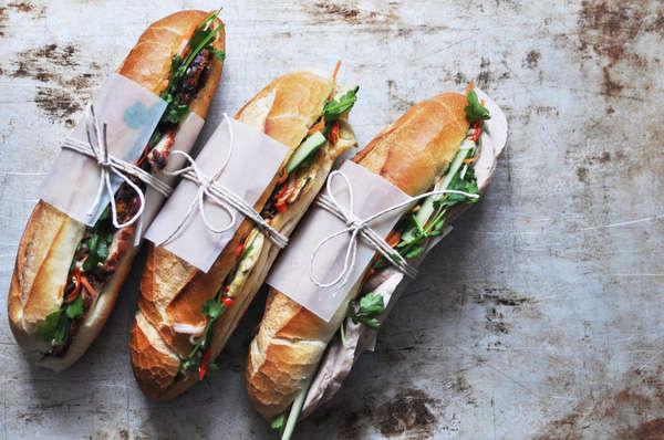 Bánh mì Việt khá nổi tiếng trên thế giới