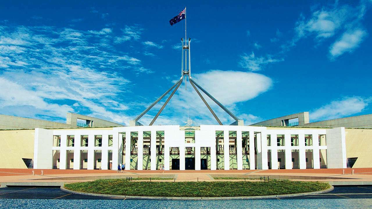 Toà nhà Quốc Hôi Úc (The Parliament House)