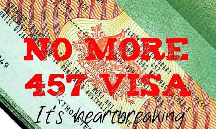 Visa 457 Úc bị loại bỏ