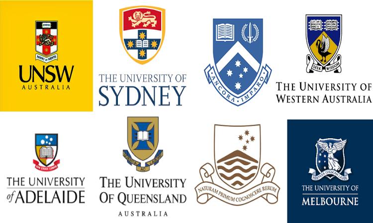 Các trường Đại học nhóm G8 của Úc