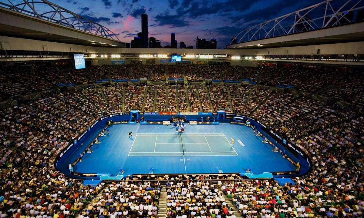 Giải quần vợt hàng đầu thế giới Grand Slamdiễn ra vào mùa hè ở Úc