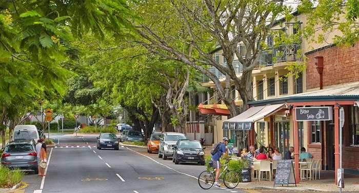 NewFarm là địa điểm nhất định phải ghé ở Brisbane Úc