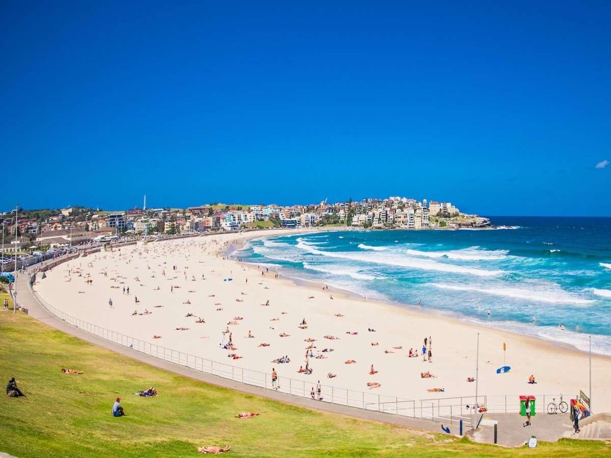 Bãi biểnBondiđẹp nhất ở Sydney Úc
