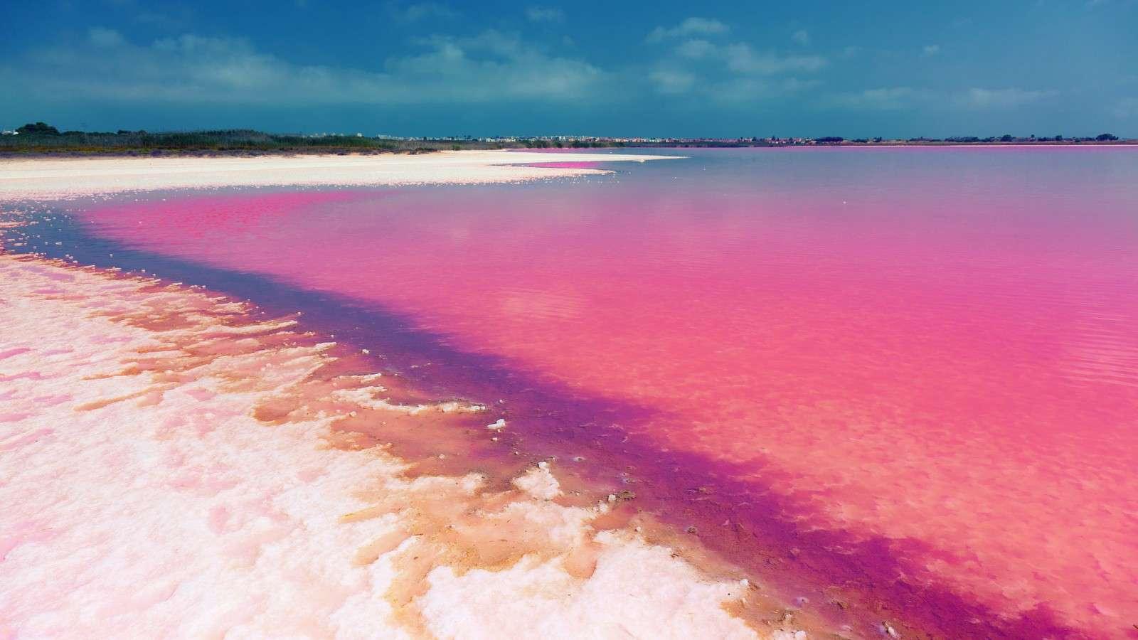 Hồ nước màu hồng ở Úc vẫn chưa tìm được lời giải