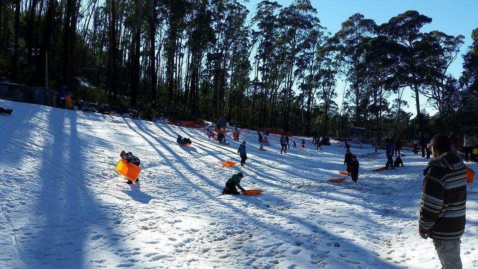 Thời tiếtở Canberravào mùa đông