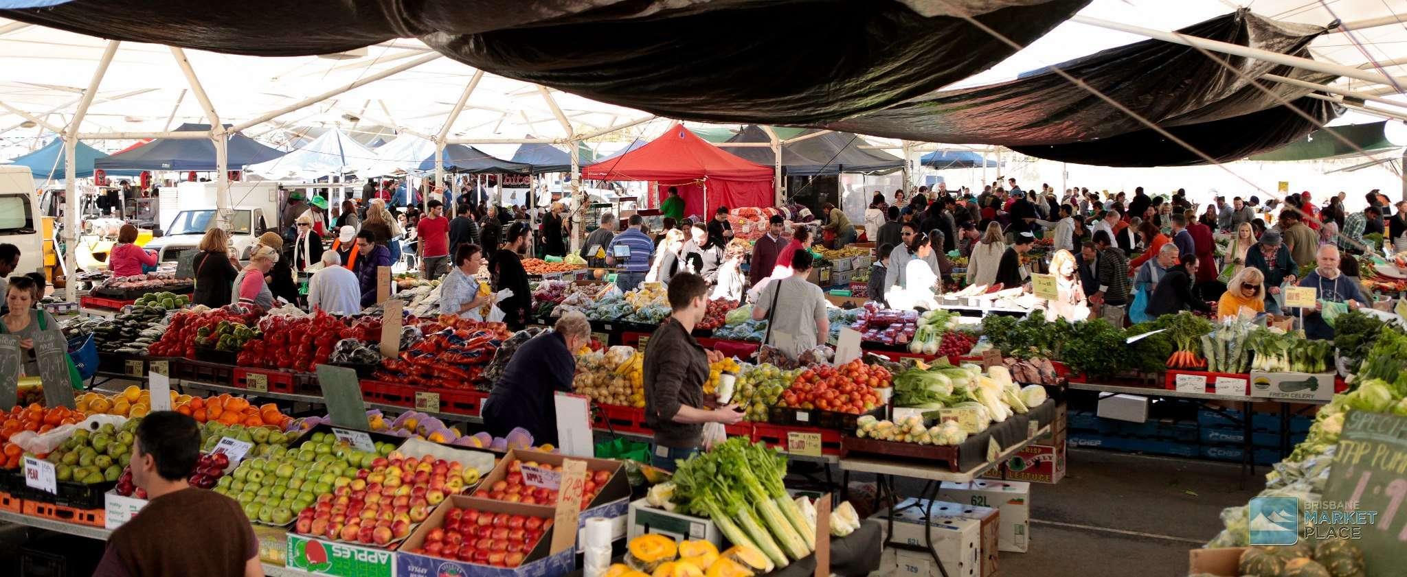Khu họp chợ ở Rocklea