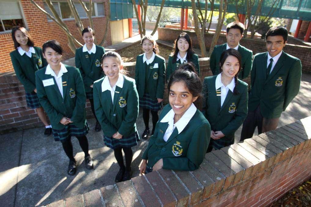 Danh sách các trường trung học phổ thông ở Sydney Úc