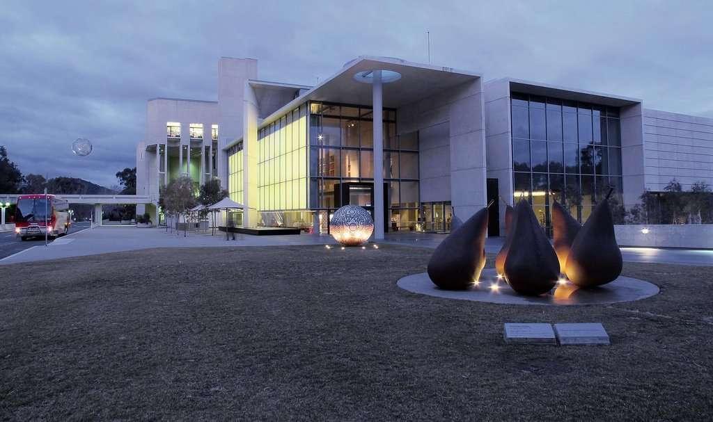 Ghé thăm bảo tàng National Gallery of Australia tại thủ đô Canberra