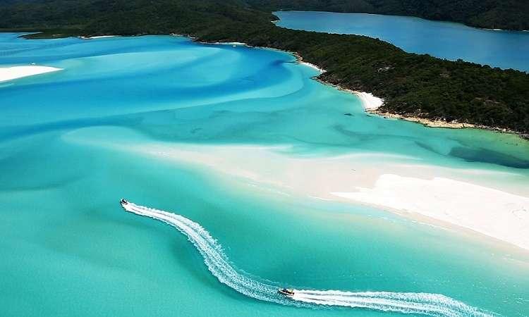 Khám phá bãi biển Whitehaven Úc - Top bãi biển đẹp nhất thế giới