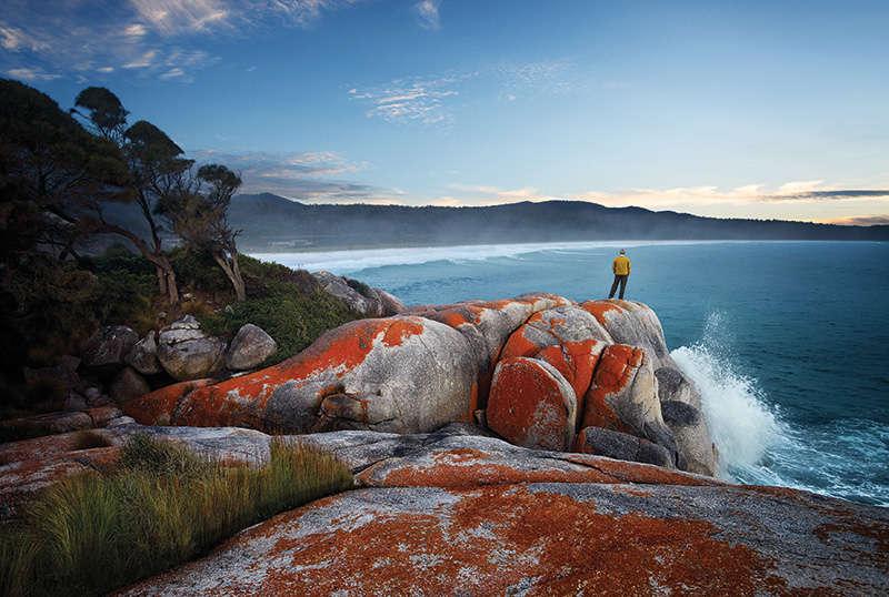 Vịnh lửa Bay of fires, Tasmania Australia độc đáo kỳ lạ