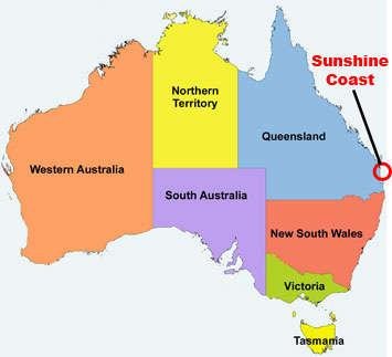 Bản đồ University of Sunshine Coast map