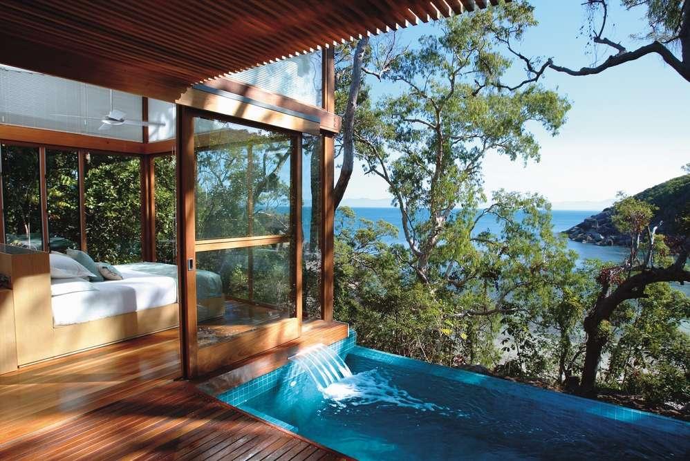 Căn villa gỗ tại khu nghỉ dưỡng Bedarra Island Resort