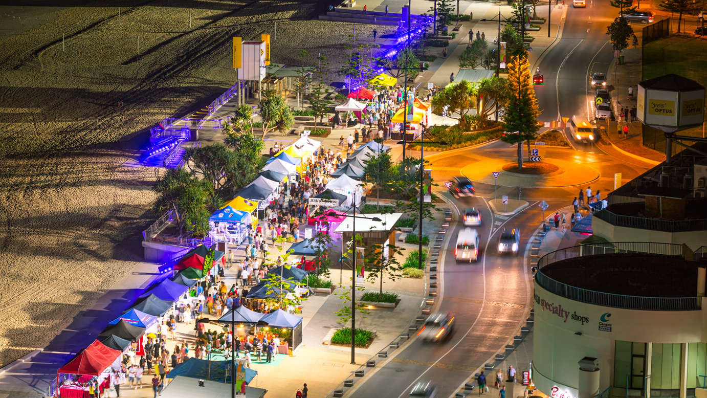 The Surfers Paradise Beachfront Markets