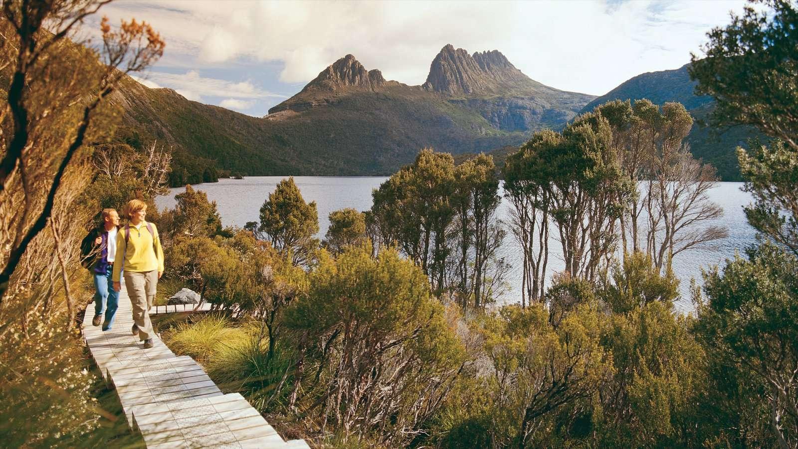 Núi Cradleở bang Tasmania còn dữ nguyên vẻ hoang sơ