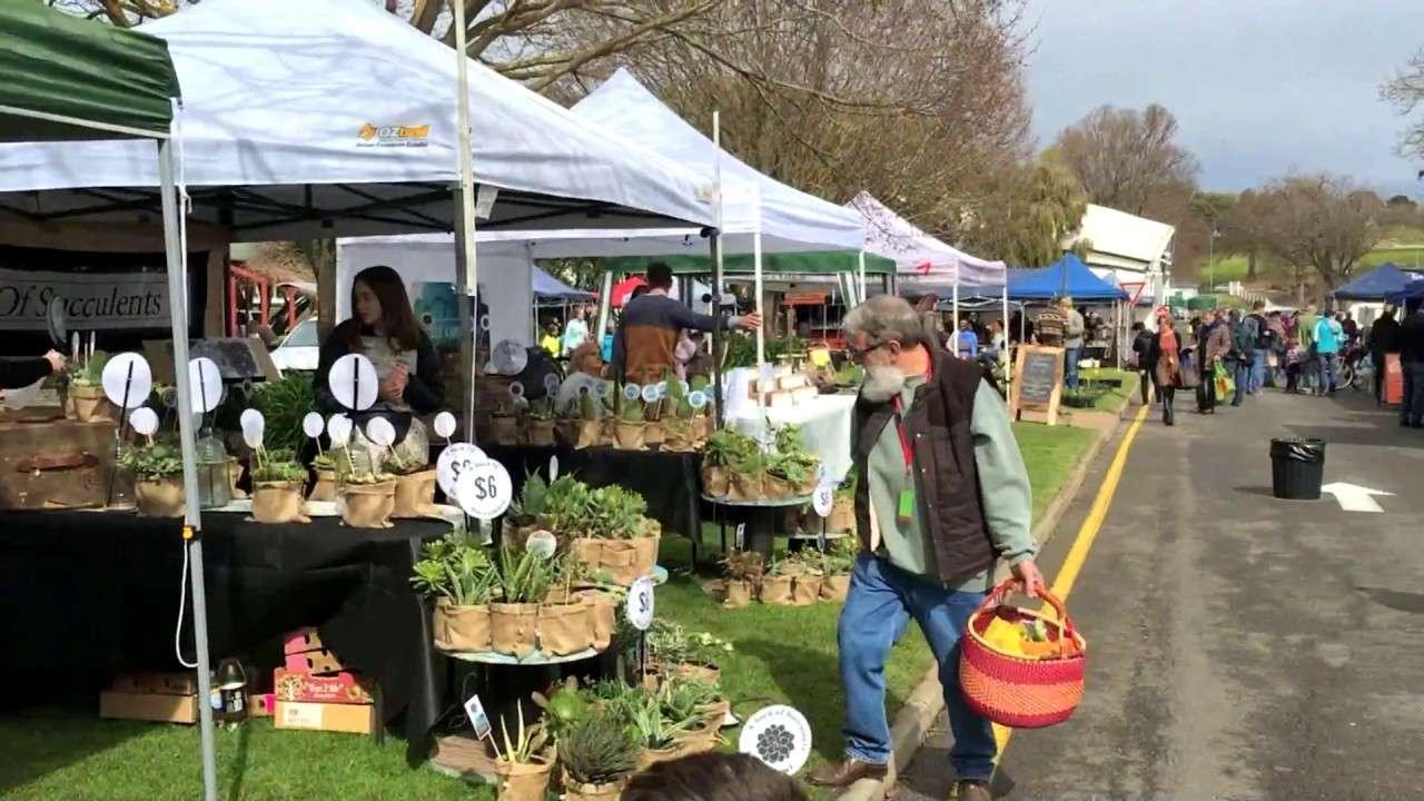 Chợ nông sản khu vực Prospect vàShowgrounds