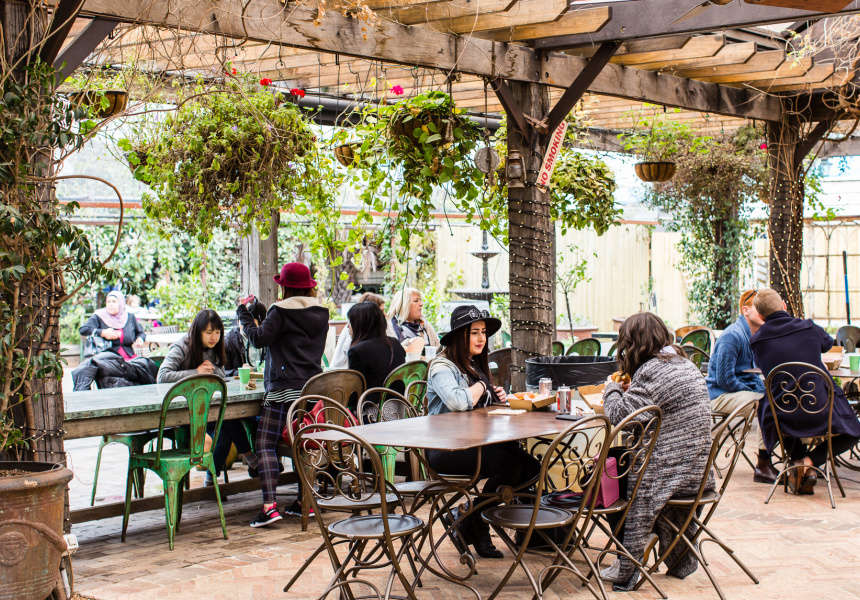 The Grounds of Alexandria Café, Alexandria