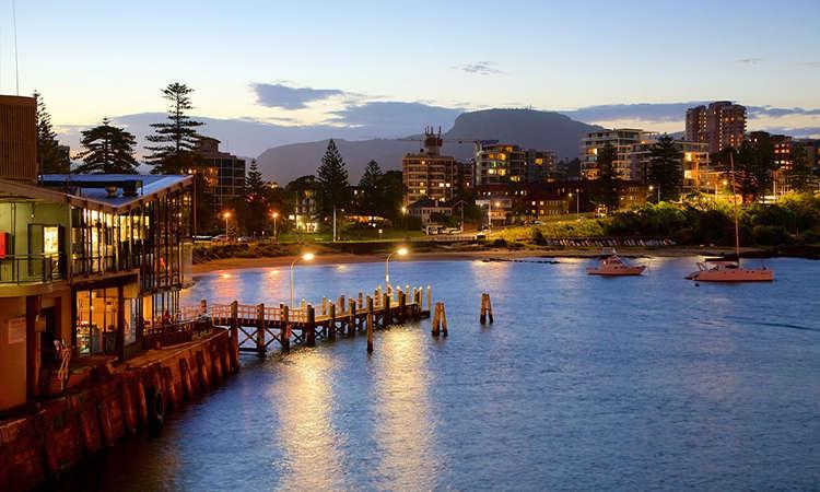 Cảng Wollongong nổi tiếng ởWollongong