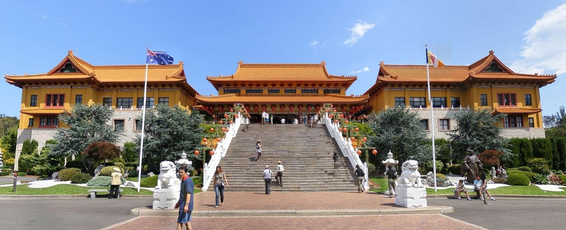 Chùa Nan Tien làngôi chùa lớn nhất ở Nam bán cầu