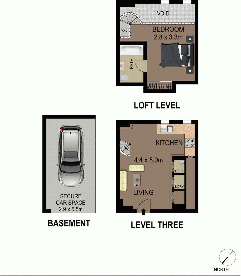 Sơ đồ mặt bằng căn hộ
