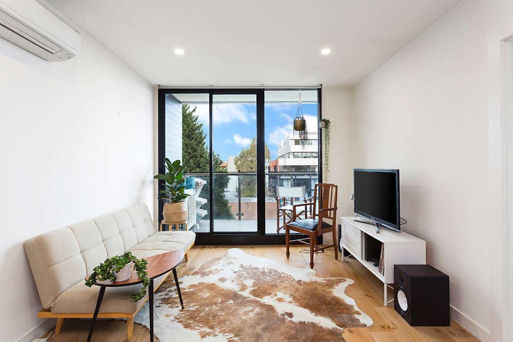 Phòng khách của căn hộ
