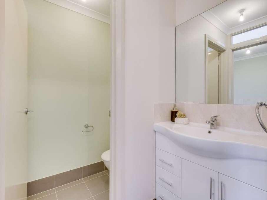 Thiết kế nhà vệ sinh của ngôi nhà ở Úc