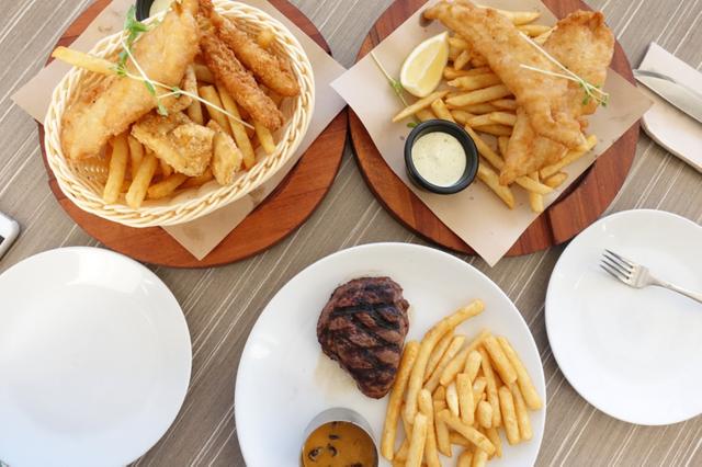Fish & Chips Circular Quay nổi tiếng khoai tây chiên và bít tết