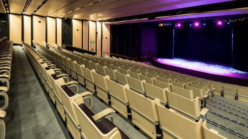Hình ảnh nhà hát con sò ở Úc với rạp playhouse