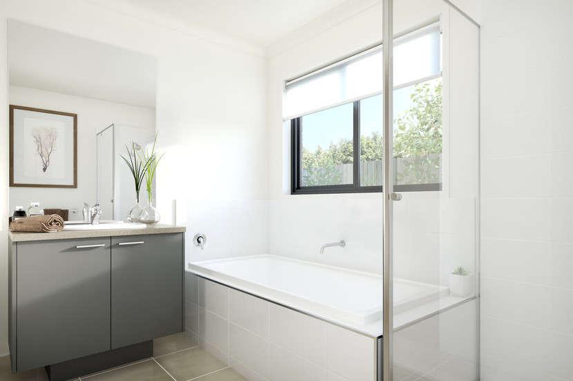 Phòng tắm đẹp, sang trọng của ngôi nhà ởMorwell,Gippsland, Úc