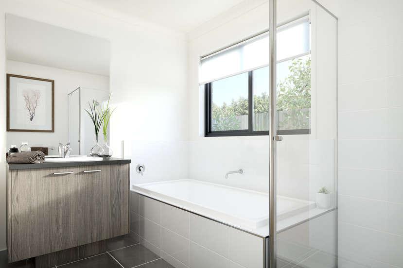 Phòng tắm rộng rãi, sang trọng