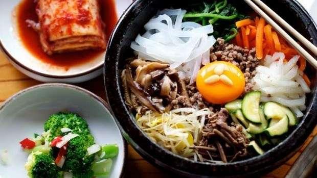 Tận hưởng ẩm thực Hàn Quốc