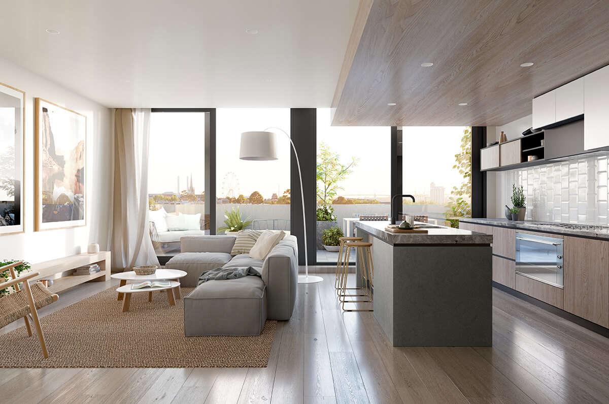 Thiết kế những căn hộ tại Flagstaff Green Úc đầy hiện đại, tiện nghi