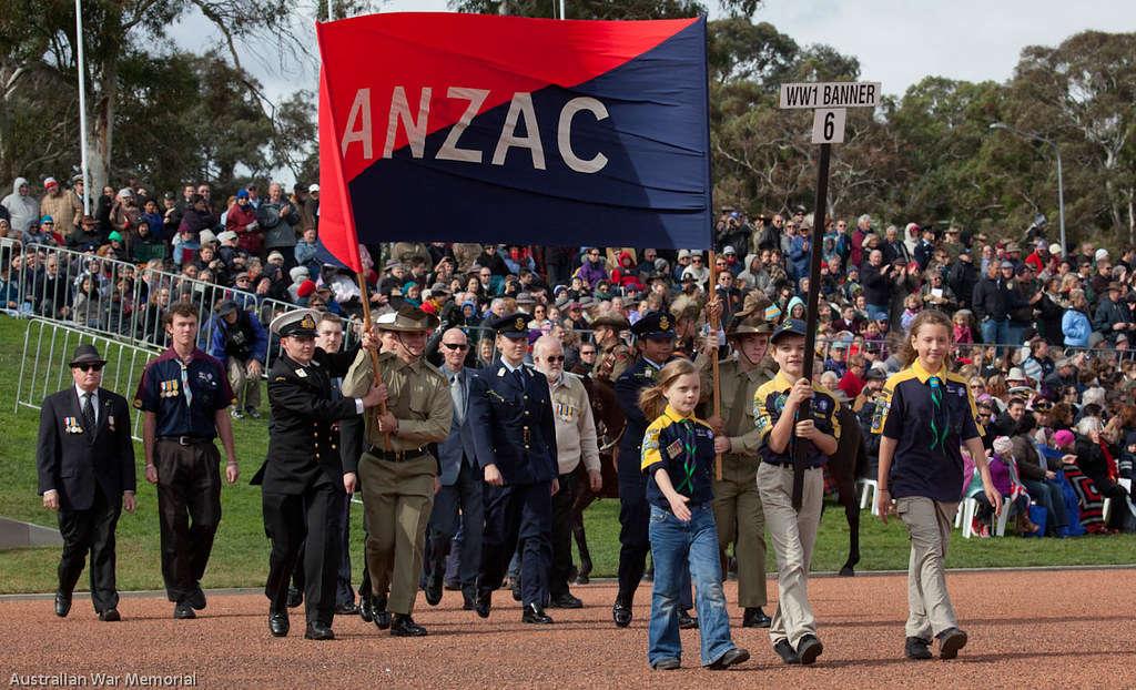 Hàng ngàn người Úc tham gia buổi diễu hành trong Anzac day