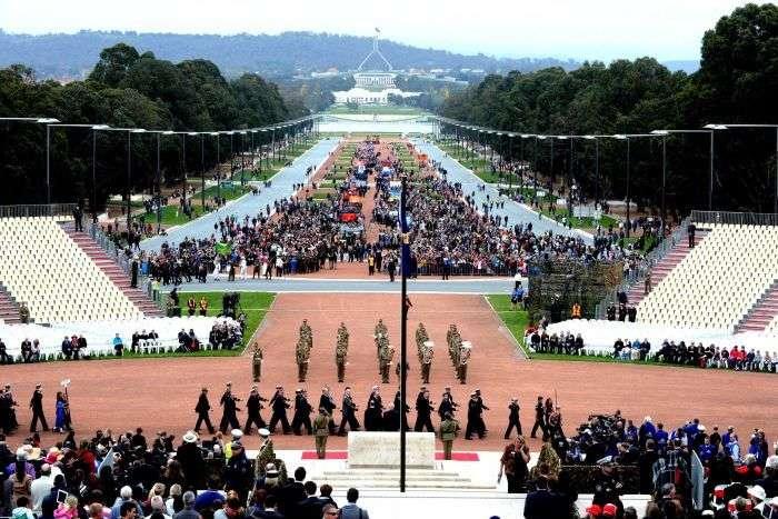Lễ kỷ niệm Anzac day tổ chức trang trọng ở thủ đô Canberra
