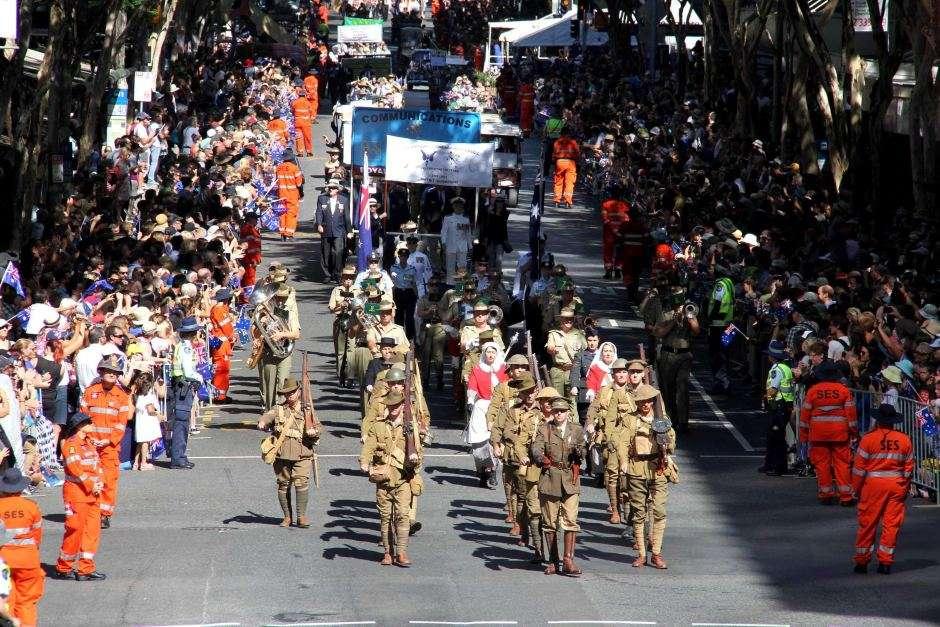 Ngày Anzac ở Úc để tưởng nhớ những người đã hi sinh trong các cuộc chiến