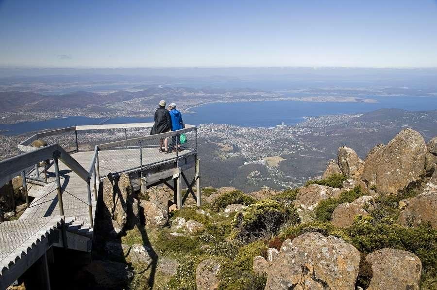 Thưởng ngoạncảnh đẹp trên núi Wellington, Hobart