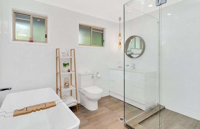 Phòng tắm xinh xắn của ngôi nhà