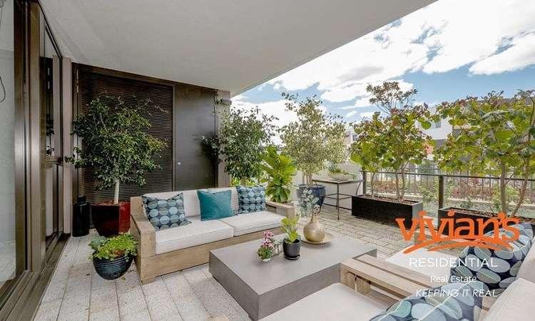 Mua căn hộbang Tây Úc ngoại ô Floreat 2019 có sân trong rộng