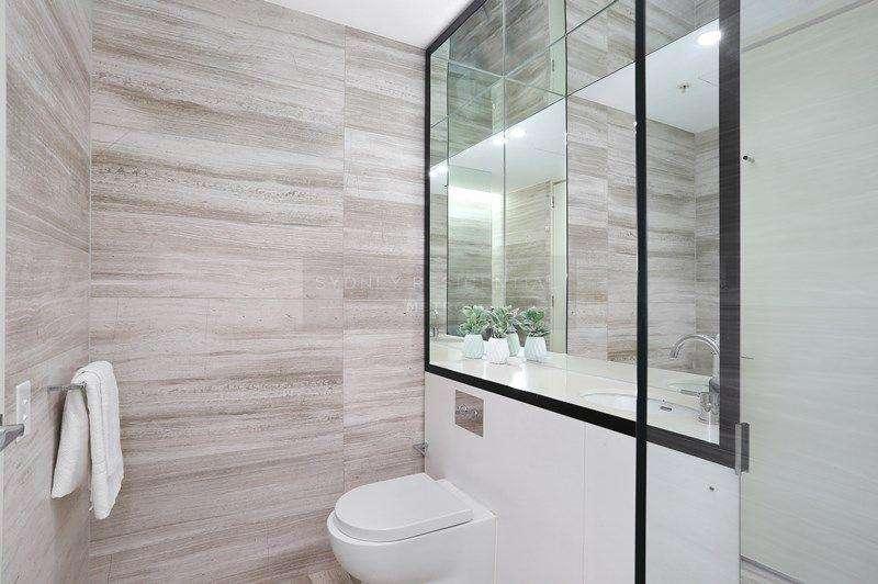 Phòng tắm tiện nghi đầy đủ trang thiết bị