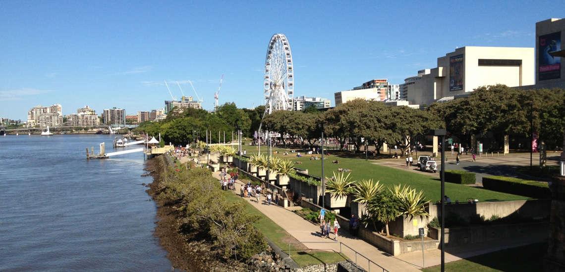 Dạo bước trong những công viên ở Brisbane xanh mát tuyệt đẹp