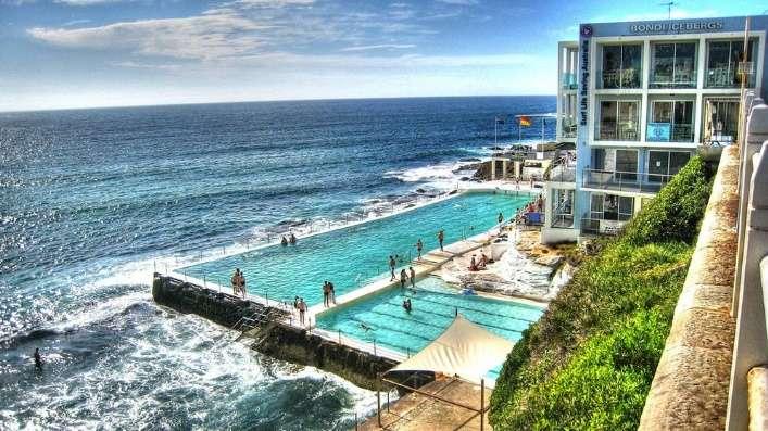Khu vực bãi biển Bondi nơi lưu trú hoàn hảo cho kỳ nghỉ kết hợp làm việc