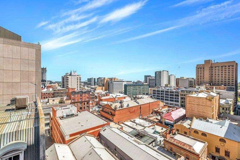 Quang cảnh nhìn từ chung cư ở Adelaide