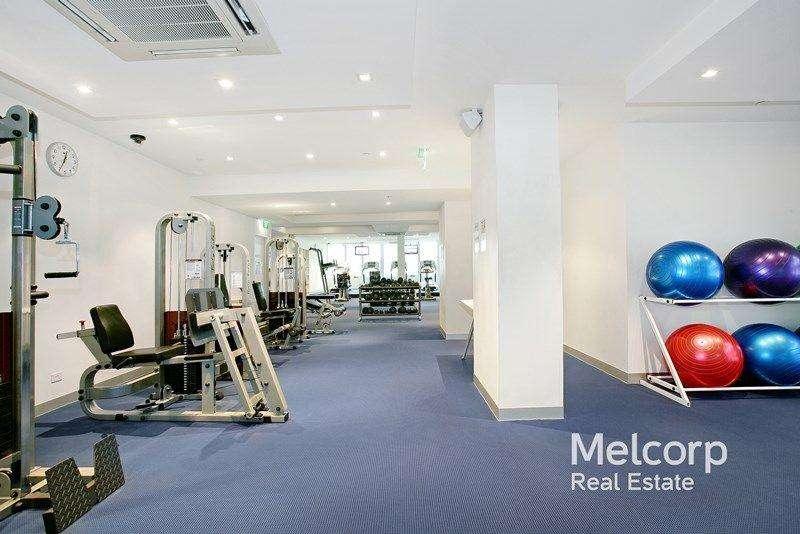 Bạn có thể sử dụng phòng tập gym ở tòa nhà