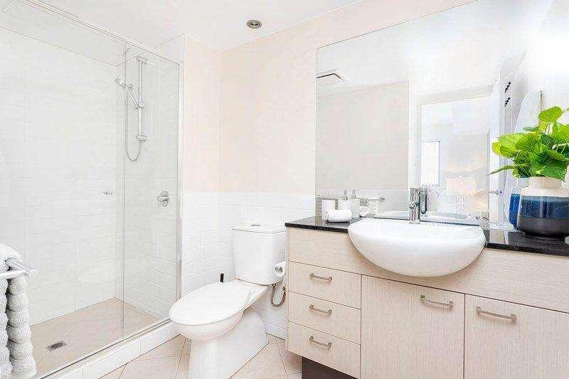 Một phòng tắm của căn hộ chung cư