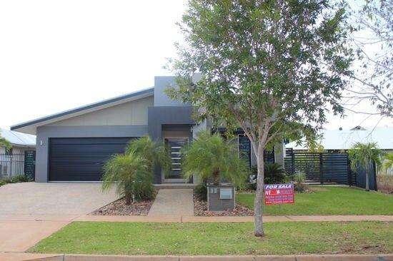 Tổng quan bên ngoài ngôi nhà ở Úc vùng lãnh thổ Bắc Úc ngoại ô Muirhead