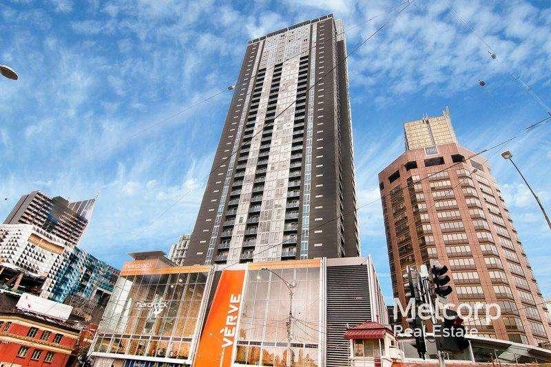 Vị trí của tòa nhà ở ngay trung tâm thành phố Melbourne