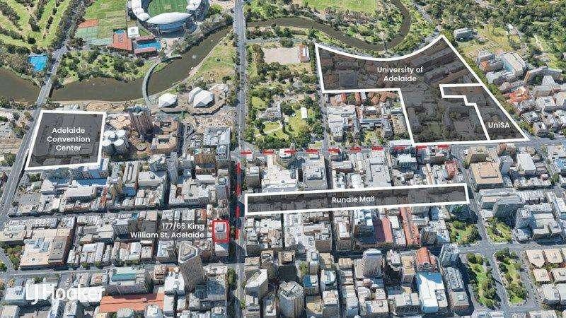 Căn hộ chung cư nằm ngay trung tâm thành phố Adelaide Úc