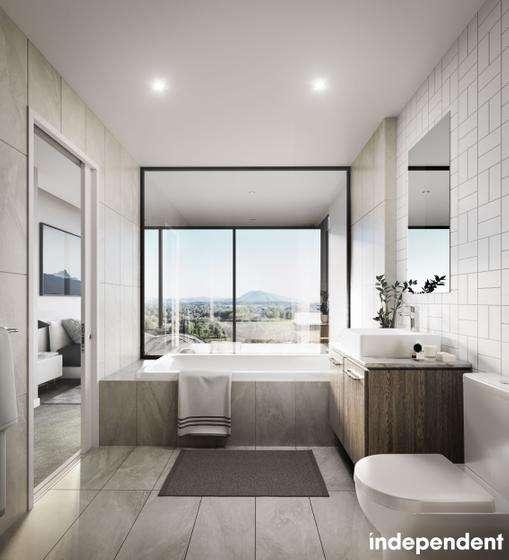 Phòng tắm khép kín sang trọng trong phòng ngủ chính