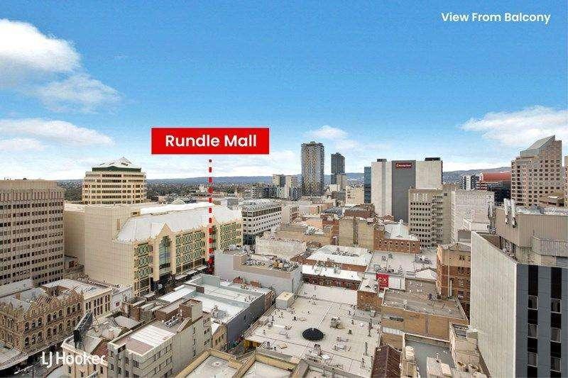Tòa nhà gần trung tâm thương mại Rundle Mall
