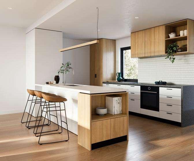 Phòng bếp hiện đại, cao cấp